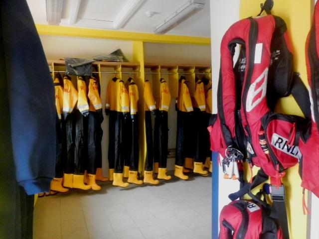 Crew Changing Room - September 2013