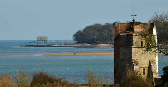 Lifeboat Station from St Helens, Old Church