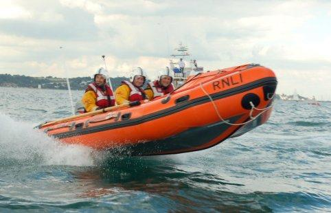 The D-class Inshore Lifeboat