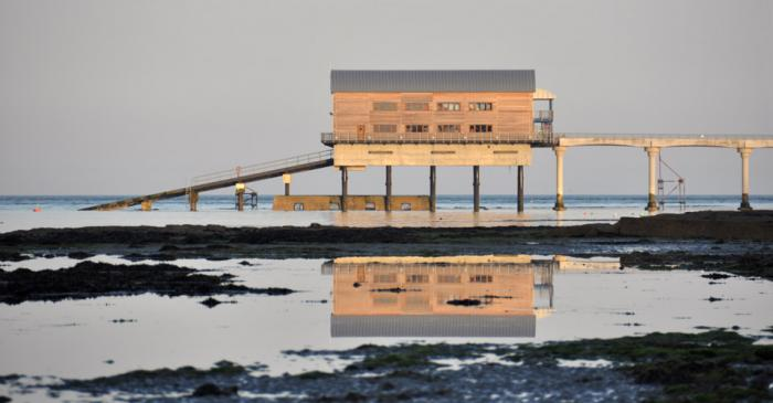 Bembridge Lifeboat Station Mirrored - Banner