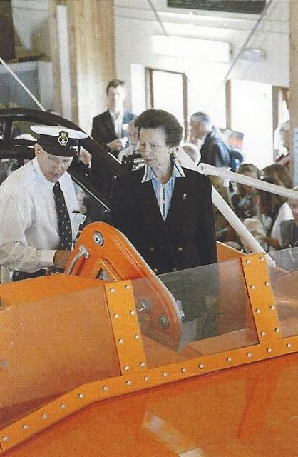 Princess Royal with Steve onboard AAW