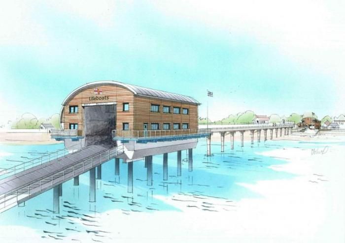 The New Offshore Station – Artist's Impression