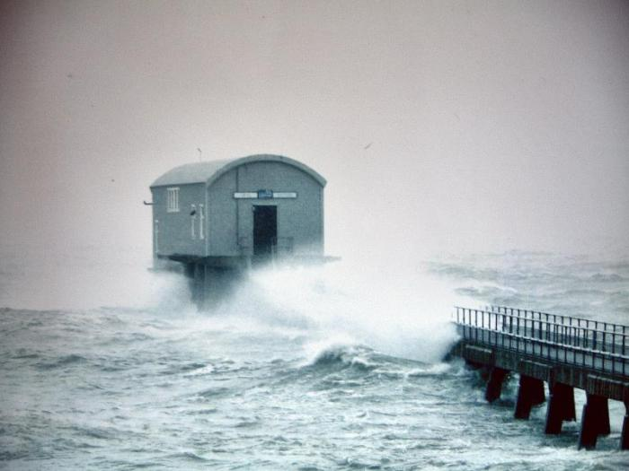 The Old Lifeboat Station at Storm