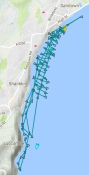 Sandown Independent Lifeboat track