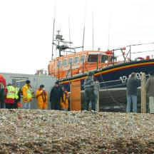 Temporary Lifeboat Station