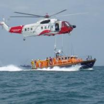 Rescue Exercise with Helicopter