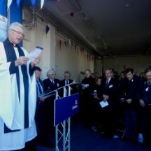 Canon Andrew Menniss conducting the Dedication Service