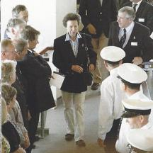 Princess Royal with Graham Hall (LOM)