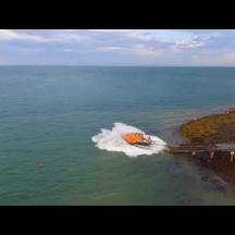 Embedded thumbnail for RNLB Frank and Anne Wilkinson (relief Tamar) launching 22nd Aug 2017
