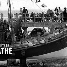 Embedded thumbnail for Short clip of Bembridge Lifeboat (Jessie Lumb) being dedicated in 1939